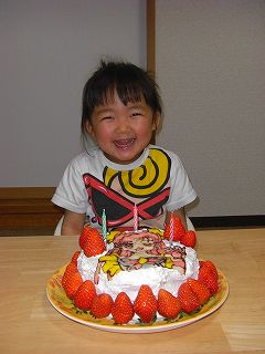 みゆちゃん誕生日